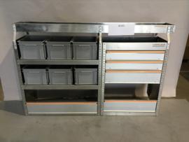 Aluminium bedrijfswagen inrichting Finnerup Bi-053