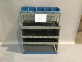 Stalen schappenkast Bi-022