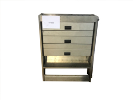 Aluminium Ladenkast LO-002