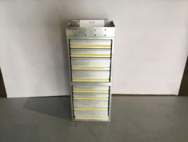 Aluminium ladenkast BI-040