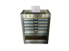 Aluminium ladenkast Cu-061