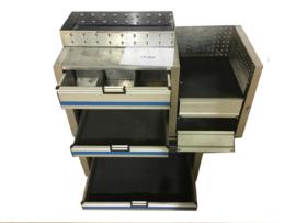 Aluminium Ladenkast CR-004