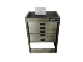 Aluminium ladenkast Cu-036