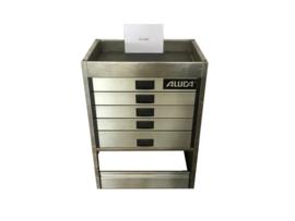 Aluminium ladenkast Cu-042