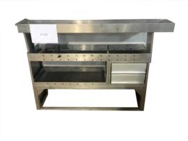Aluminium schappenkast ST-025