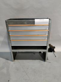 Aluminium inrichting Finnerup Men-002