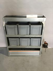 Aluminium bedrijfswagen inrichting Finnerup Bi-052