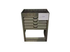 Aluminium ladenkast Cu-073