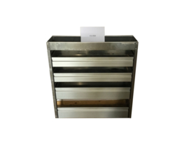 Aluminium kleppenkast Cu-050