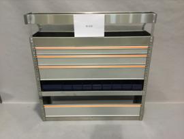 Aluminum ladenkast Finnerup Bi-016