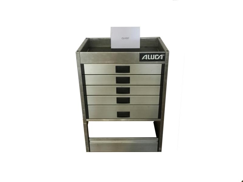 Aluminium ladenkast Cu-037