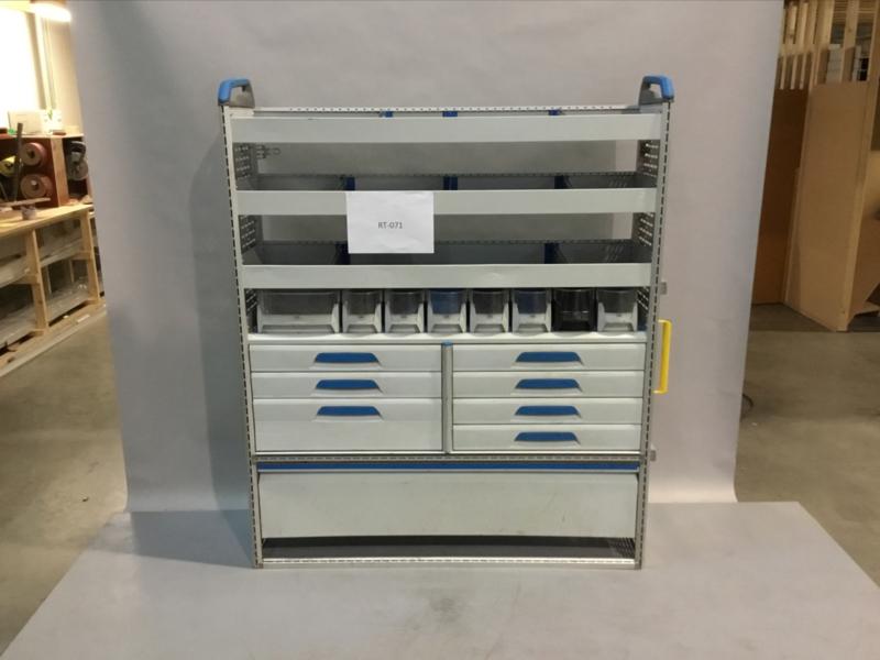 Aluminium ladenkast Sortimo RT-071