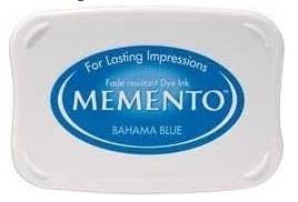 Memento Bahama Blue Stempelkissen