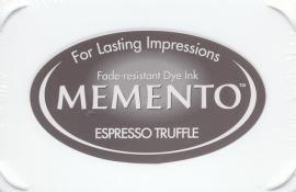 Memento Espresso Truffle Stempelkissen