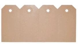 Manilla label 14,0 x  7,0 cm (12 stuks)