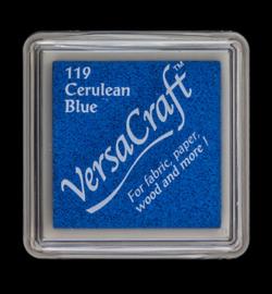 "Versacraft small ""Cerulean Blue"" textielinkt"