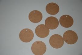 Ronde labels mini 2,0 cm diameter (25 stuks)