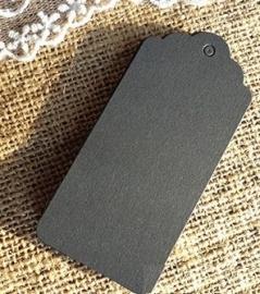 Groot label boogjes  (9,5 x 4,5 cm/ 10 stuks)