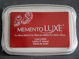 "Memento Luxe ""Love Letter"""