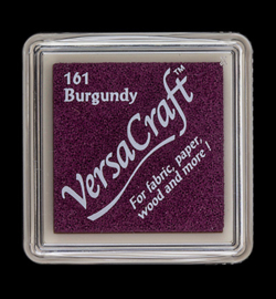 "Versacraft small ""Burgundy"" textielinkt"