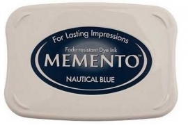 Memento Nautical Blue Stempelkissen (Dunkelblau)