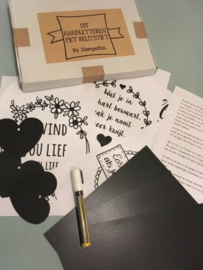 Do-it-yourself-Handlettering-Kit