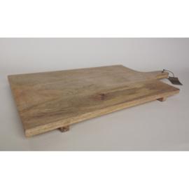 Mango houten snijplank B (70x35x3cm) incl graveren
