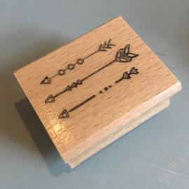 Handstempel rechteckig (breite ist 4,0cm)
