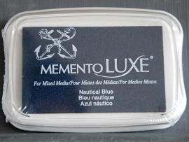 "Memento Luxe ""Nautical Blue"""