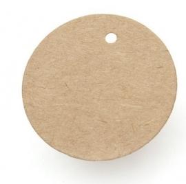 Ronde labels middel (6,5 cm/25 stuks)