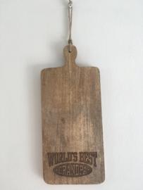 Mango houten snijplank H (35x15 cm) incl graveren