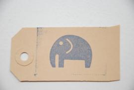 Handstempel rechteckig (breite ist 5,0 cm)