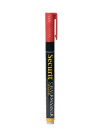 Flüssigkreide fineliner rot (Punkt 1-2mm)