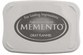 Memento Gray Flannel Stempelkissen