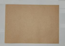Kraft stickervel A4 (180 grams/5 vellen)