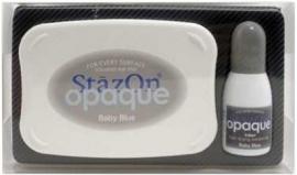 Stazon Opaque Baby Blue (Pastel blauw)