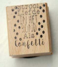 """Stempel  """"Confetti"""""""