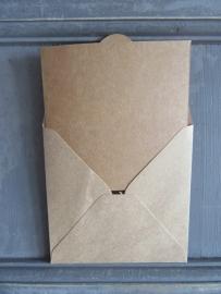 Dovecraft Kraft kaarten en enveloppen (10 x10,0 cm/30 sets)