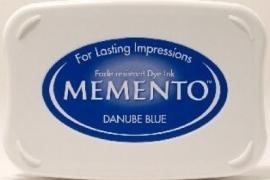 Memento Danube Blue Stempelkissen