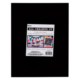 Spezial Kreidetafel-papier (22x29cm /Laminiert)