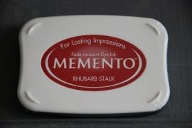 Memento Rhubarb Stalk Stempelkissen