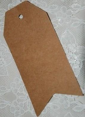 Klassiek label klein met punten (5,0 x 3,0 cm/25 stuks)