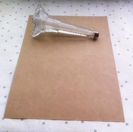 Kraft karton A4 (350 grams/5 vellen)