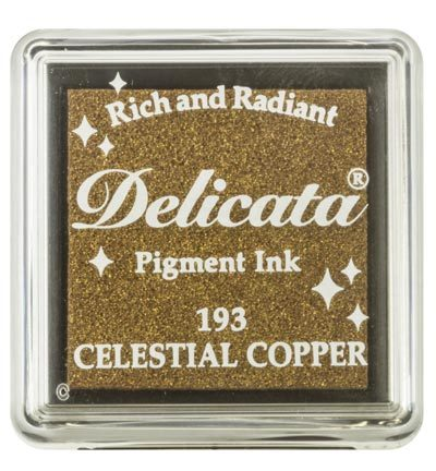 Delicata Stempelkissen Christal Copper