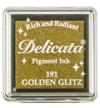Delicata Stempelkissen Golden Glitz
