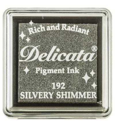 Delicata Stempelkissen Silver Shimmer
