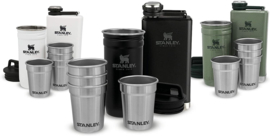STANLEY PRE PARTY SET SHOT GLASS + FLASK