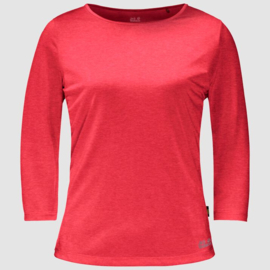 Jack Wolfskin JWP 3/4 T-shirt Dames SS21