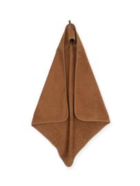 Jollein Badstof Badcape 75x75cm- Caramel