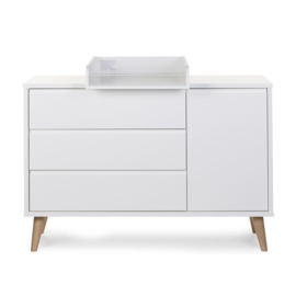 Retro Rio White commode extra breed